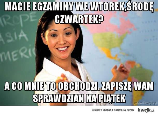 Wredna Nauczycielka