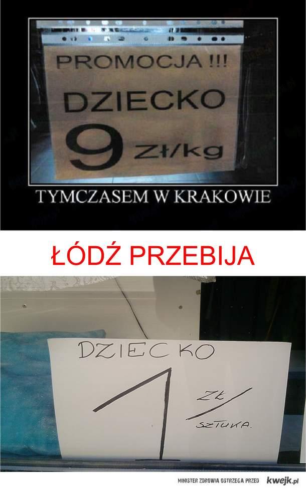 Łódź przebija Kraków