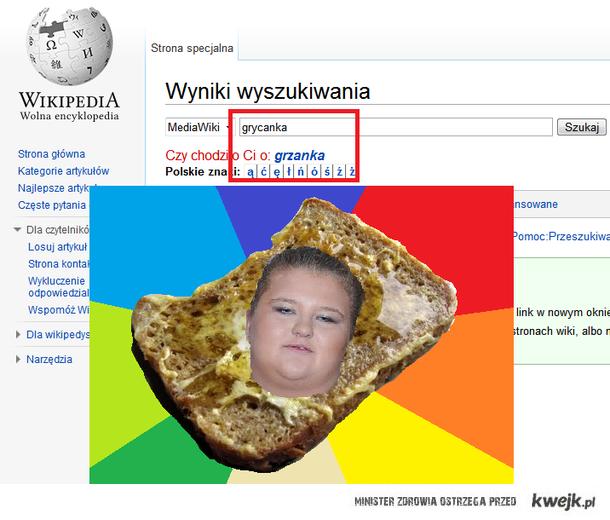 Grycanka-grzanka