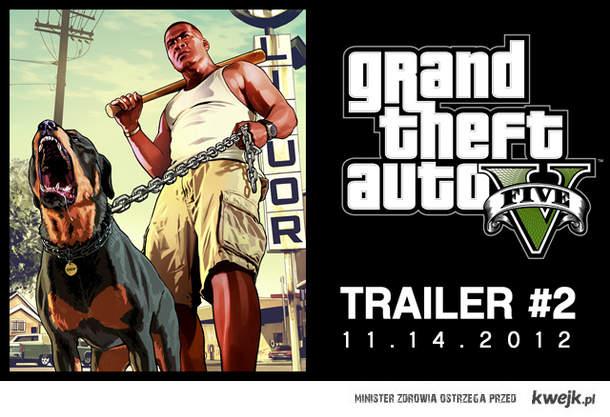 GTA V TRAILER #2 14 listopada