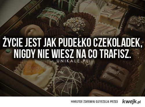 Jak czekoladki