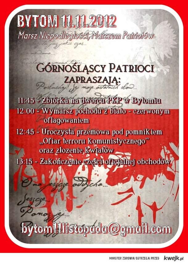 Marsz Niepodległości Bytom