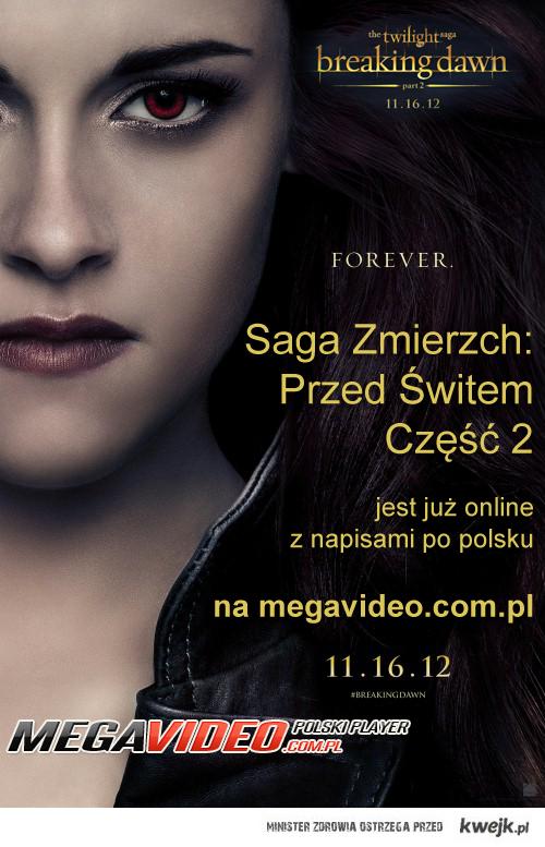 Saga Zmierzch Przed świtem Część 2 online