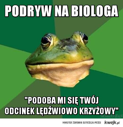 podryw na biologa