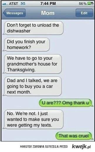 smsy od mamy
