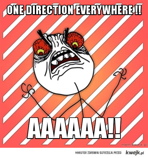 One Direction everywhere !!