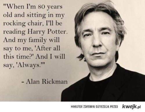 Alan Rickman <3
