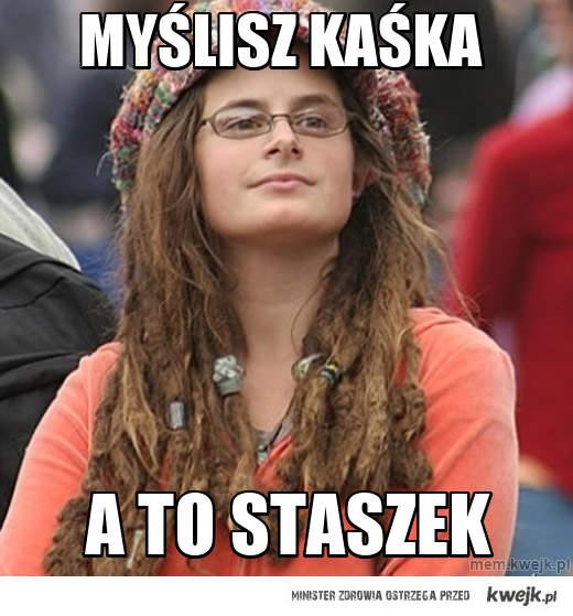 Myślisz Kaśka