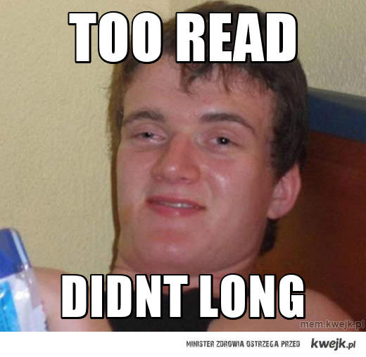 too read