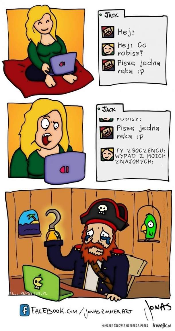 Pirat na fejsie