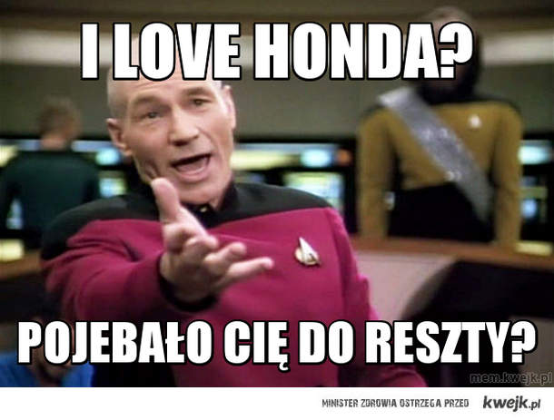 I love Honda?