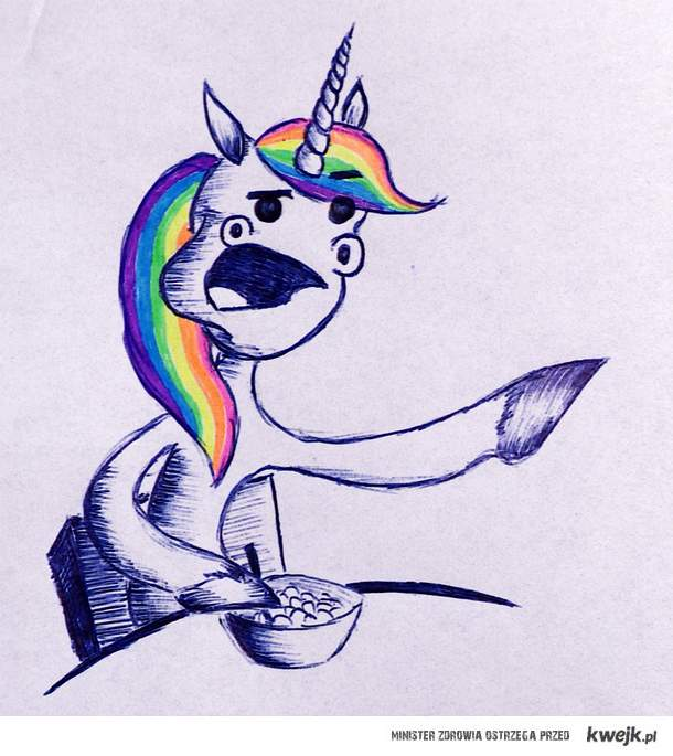 Cereal unicorn