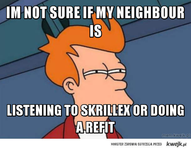 im not sure if my neighbour is