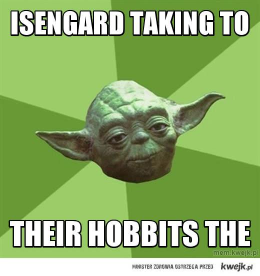 Isengard taking to