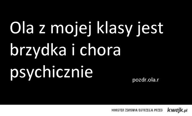 pozdr psychopatko;)