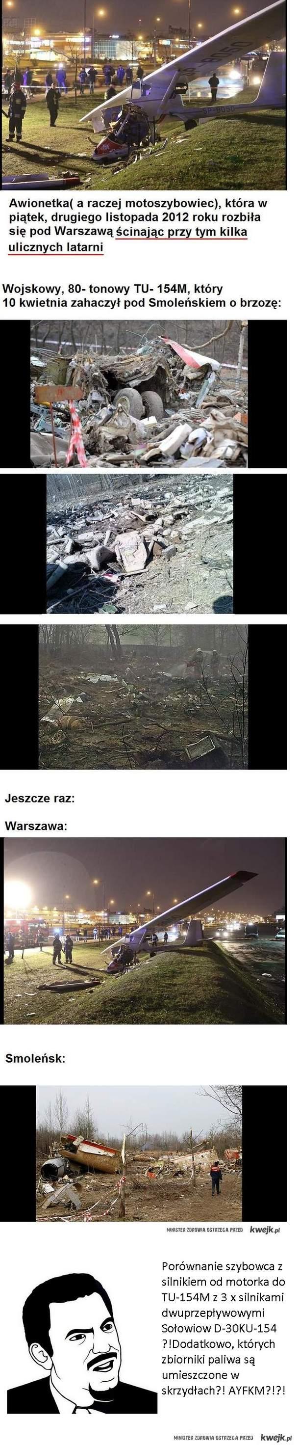 Smoleńsk vs Szybowiec