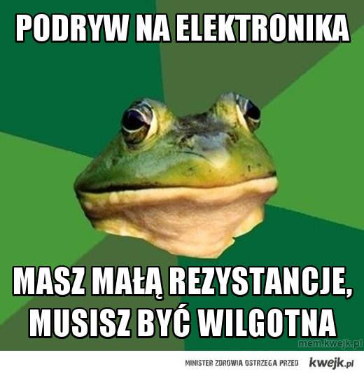 Podryw na elektronika