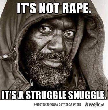 To nie gwałt...