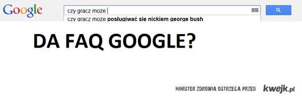 DA FAQ google?