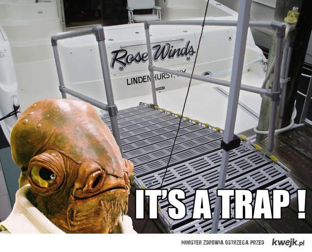 IT'S A TRAP !