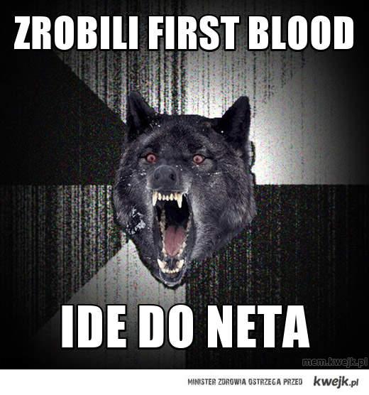 zrobili first blood