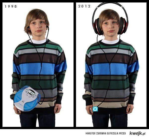 Słuchanie muzyki po latach