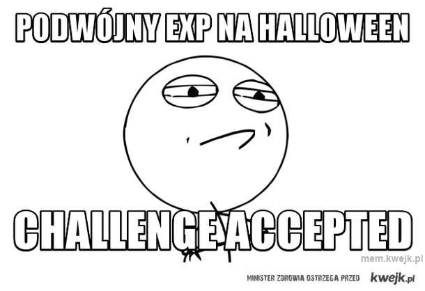 Podwójny exp na halloween