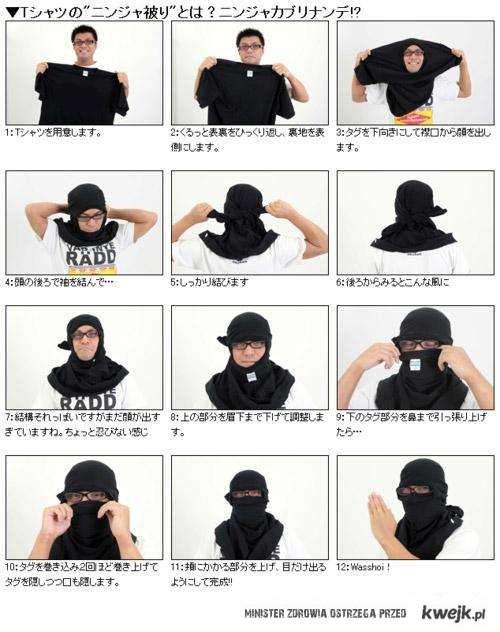 jak zostac ninja