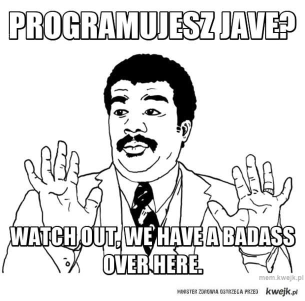 programujesz jave?