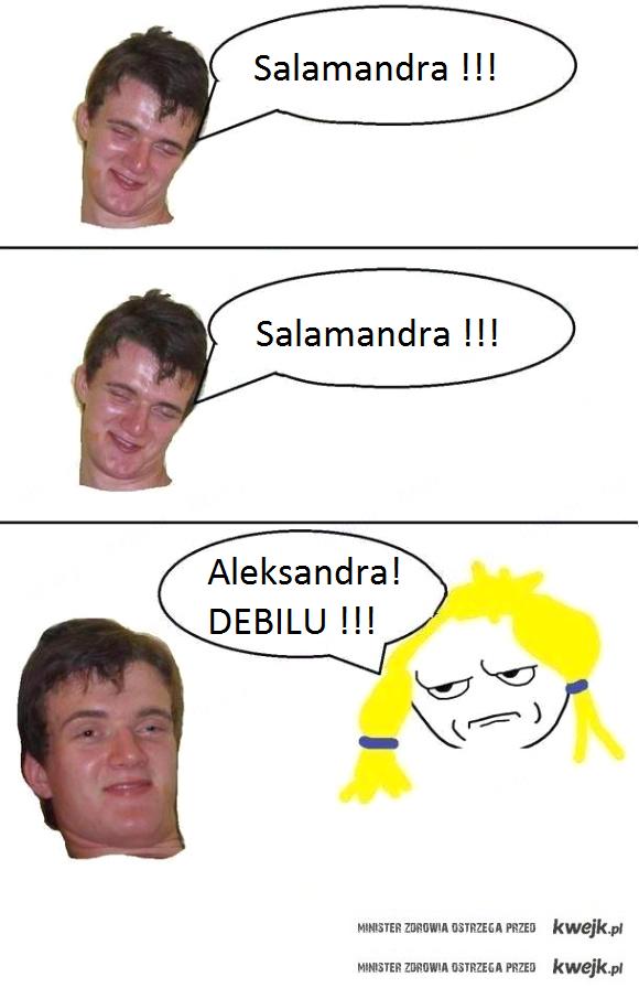 aleksandra debilu !