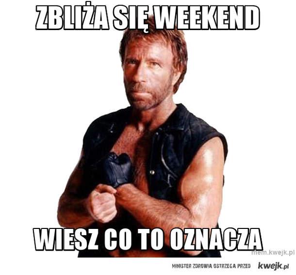 Zbliża się weekend