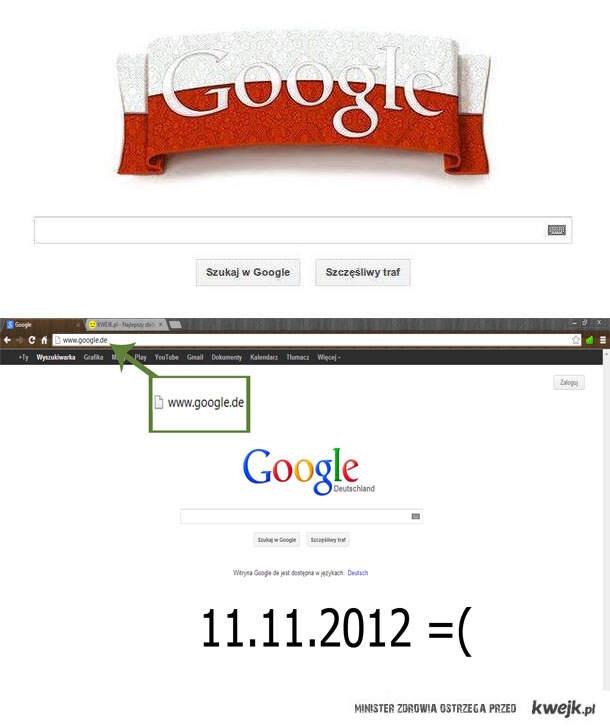 Niemiecka strona Google