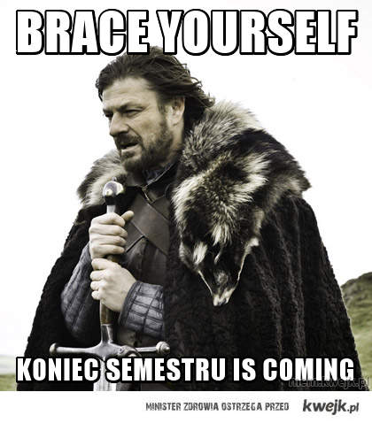 Brace yourself