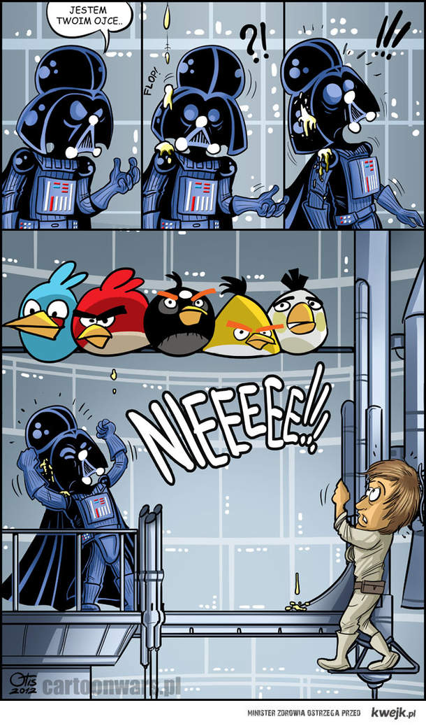 Cartoon Wars vs Angry Birds