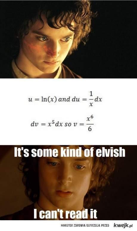 Matematyka wytworem elfów