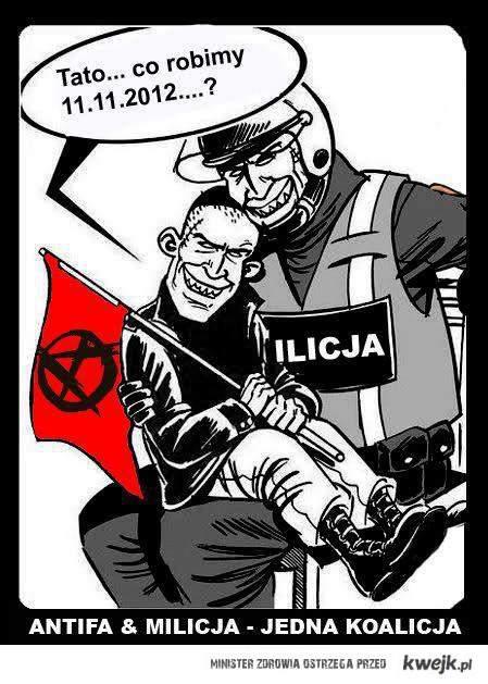 Antifa & POlicja