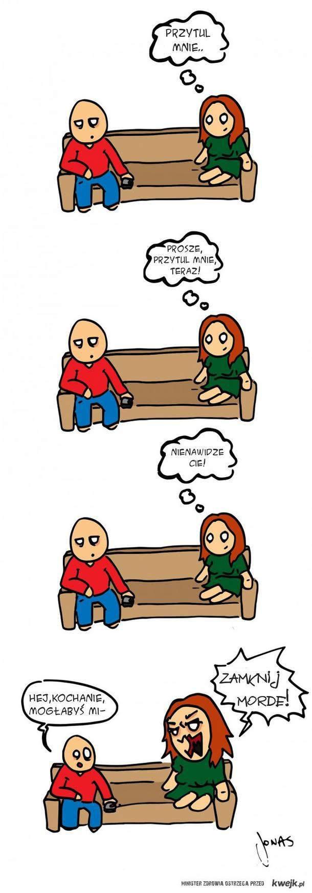 kobieca logika.