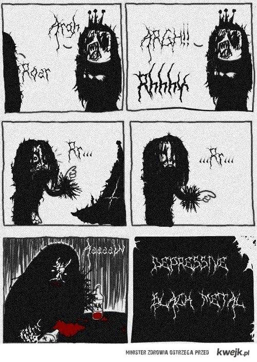 depressive black metal