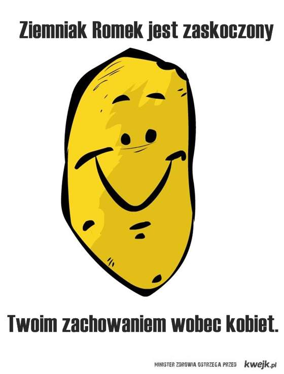 Ziemniak Romek.