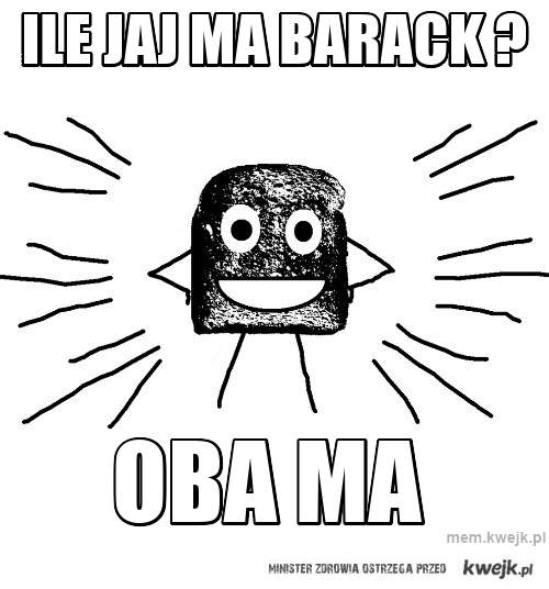 Ile jaj ma Barack ?