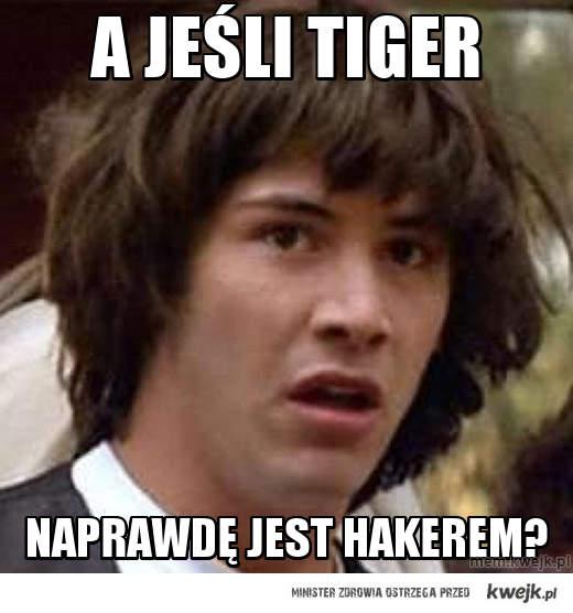 A jeśli tiger