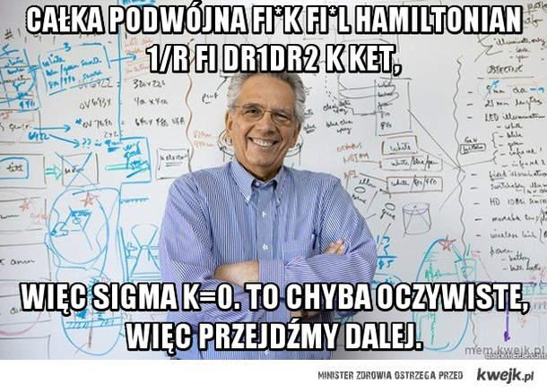 całka podwójna fi*K fi*L hamiltonian 1/r fi dr1dr2 k ket,