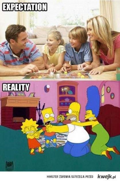 Oczekiwania i rzeczywistość