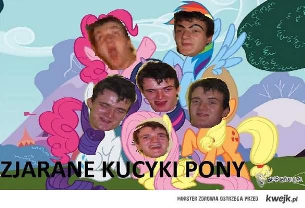 Zjarane kucyki pony