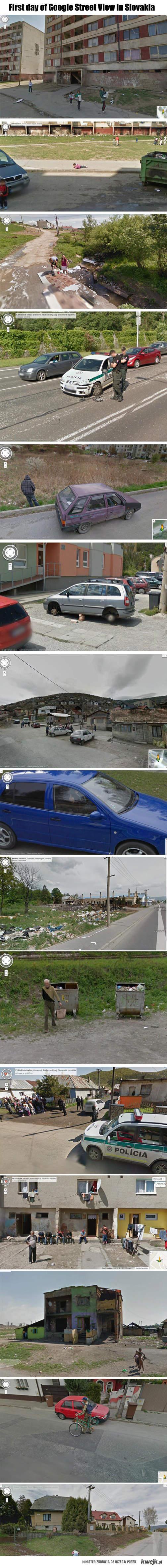 Słowacja i google street view