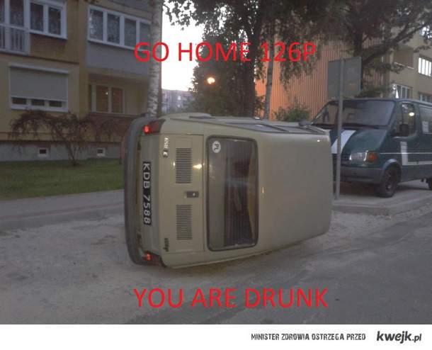 Nawalony Fiat