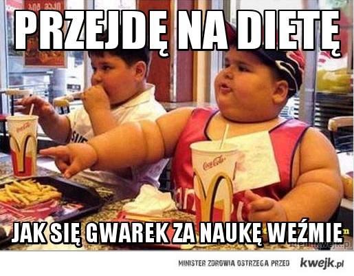 przejdę na dietę