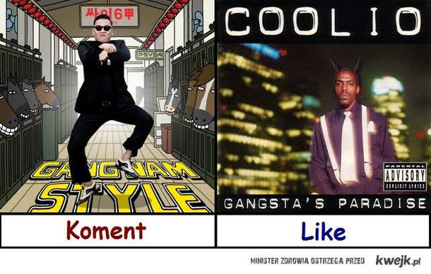 Psy Gangnam Style vs Coolio