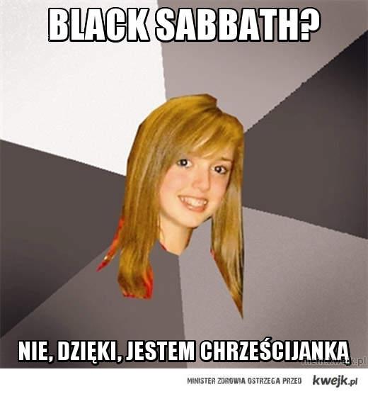 black sabbath?