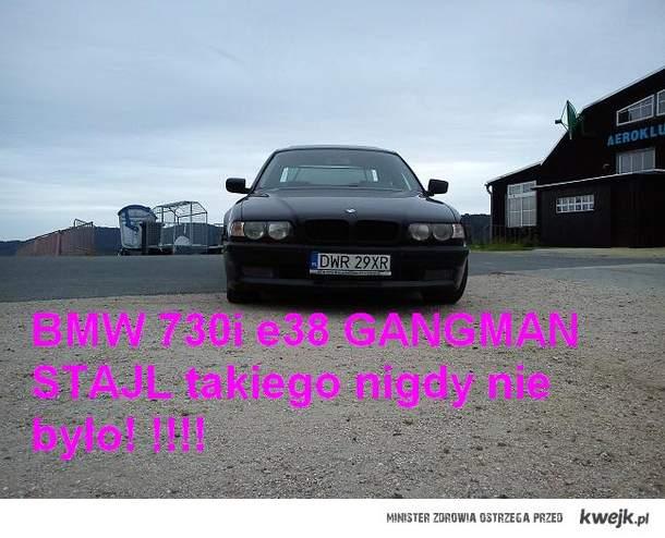 BMW 730i e38 GANGMAN STAJL takiego nigdy nie było!